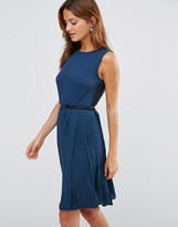 Lavand Belted Dress