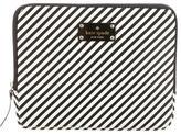 Kate Spade Striped Leather iPad Case