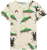 Mini Rodini Off White Insects Tee