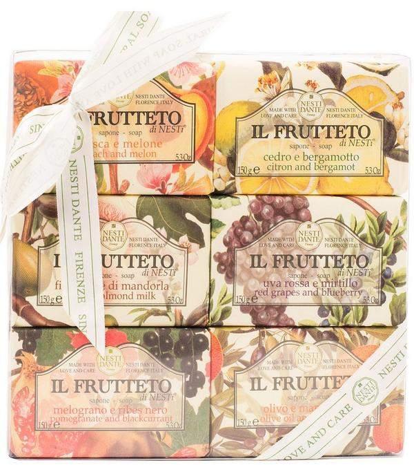 Nesti Dante Il Frutteto Soap Collection 6 X 150G