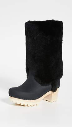 NO.6 STORE Alpha Shearling Mid Tread Boots