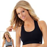 Lily of France Bra: Reversible Medium-Impact Sports Bra: 2151801