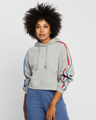 adidas Women's Grey Hoodies - Hooded Sweat - Size 6 at The Iconic