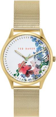 Ted Baker Belgravia Mesh Strap Watch, 36mm