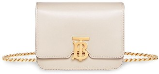 Burberry Leather Belted TB Bag