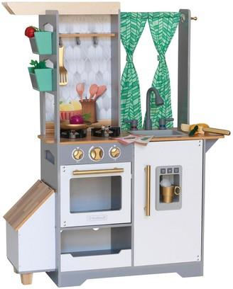 Kid Kraft Terrace Garden Play Kitchen