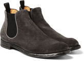 Officine Creative - Anatomia Suede Chelsea Boots