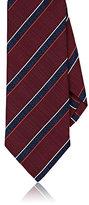 Isaia Men's Diagonal-Striped Silk Necktie