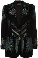 Roberto Cavalli embroidered blazer