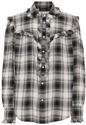 Polo Ralph Lauren Checked cotton-blend shirt