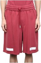 Off-White Arrows Cotton Shorts
