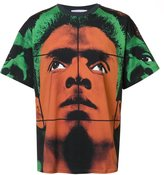 Moschino face T-shirt - men - Cotton - 46