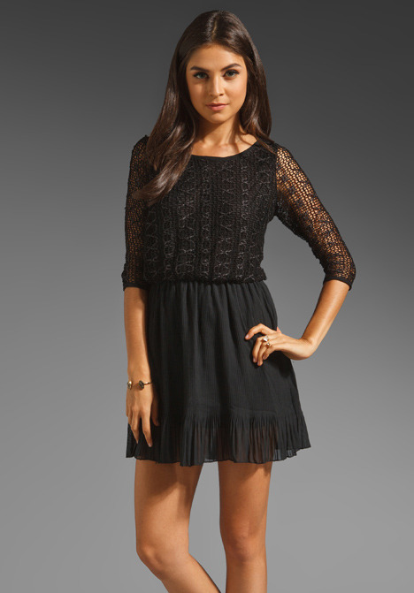 T-Bags LosAngeles Lace Mini Dress