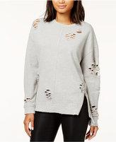 Joe's Jeans Lyndon Ripped Sweatshirt