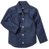 Manuell & Frank Infant Boys) Denim Blue Sport Shirt