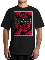 Famous Stars & Straps Men's Tropical Box Graphic T-Shirt-XL