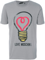 Love Moschino light bulb T-shirt - men - Cotton/Spandex/Elastane - M