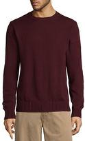 ST. JOHN'S BAY St. John's Bay Crew Neck Long Sleeve Knit Pullover Sweater