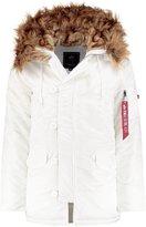 Alpha Industries Winter Jacket White