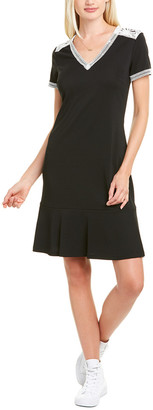 Karl Lagerfeld Paris Lace-Trim Sheath Dress