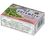 Auromere Himalayan Rose with Organic Neem - Handmade Herbal Soap (Aromatherapy) with 100% Pure Essential Oils - ALL Natural - Each 2.75 Ounces - Recommended for Sensitive Skin - Pack of 3 (8 Ounces