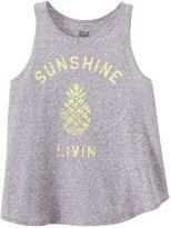 Billabong Girls' Sunshine Livin Tank Top (414) - 8145025