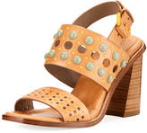 Donald J Pliner Estee Embellished Leather Sandal
