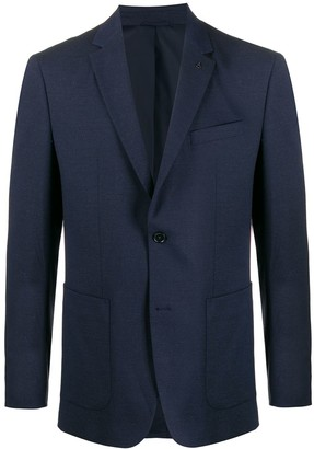 Calvin Klein Fitted Suit Blazer