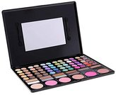 ACEVIVI Professional 78 Colors Eyeshadow Combination Pallet Eye Shadow Palette Cosmetic Makeup Kit Set with Blush, Highlighters and Liner Shades (FBA)