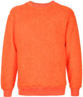 H Beauty&Youth textured crew neck sweater