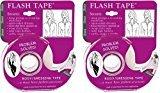 Braza Flash Tape - 2 Sided Clothing Tape (2) 20' Rolls
