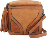 French Connection Heidi Faux-Leather Crossbody Bag, Nutmeg
