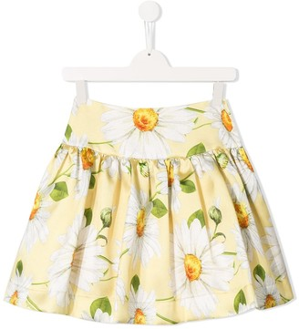 MonnaLisa TEEN floral print skirt
