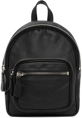 Maison Margiela Black Leather Backpack