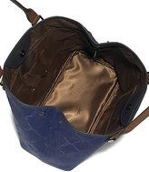Longchamp LM Metal Medium Coated-Canvas Shoulder Tote
