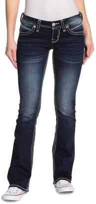 Rock Revival Priscilla Topstitched Bootcut Jeans