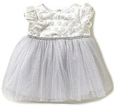 Sweet Heart Rose Baby Girls Newborn-24 Months Cap-Sleeve Dress