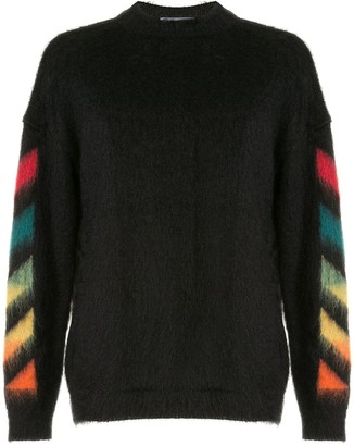 Off-White Arrows logo knitted jumper
