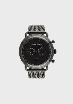 Emporio Armani Steel Strap Watch