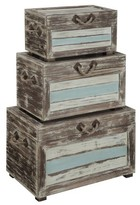 Christopher Knight Home Nautical Accent Trunks - Multicolor