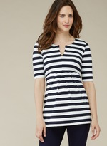 Isabella Oliver Baywood Striped Maternity Top