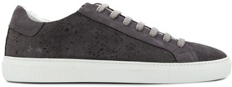 Hide&Jack splash detail low top sneakers