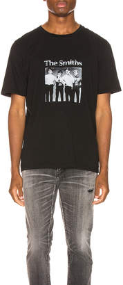 Saint Laurent The Smiths Tee in Black & Natural | FWRD