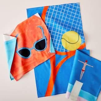 west elm Summer Fun Tea Towels (Set of 3)