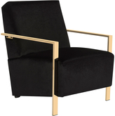 Safavieh Black Orna Accent Chair