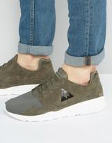 Le Coq Sportif R Mono Luxe Sneakers In Green 1710466