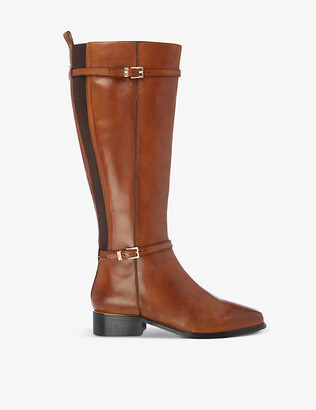 Dune Top leather knee-high boots
