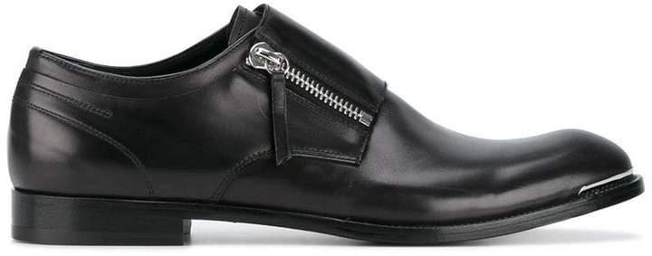 Alexander McQueen zipped Derby shoes