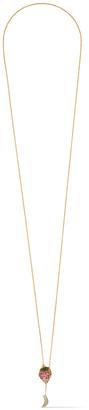 Noir Gold-tone Crystal Necklace