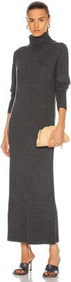 Nili Lotan Cassandra Cashmere Dress in Charcoal | FWRD